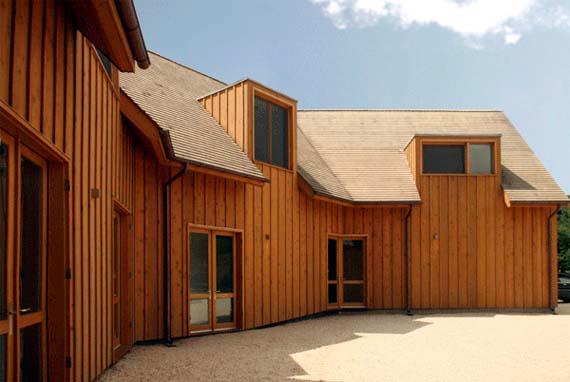 Centrifugal Villa Design, Centrifugal Villa Picture, Wooden House Design