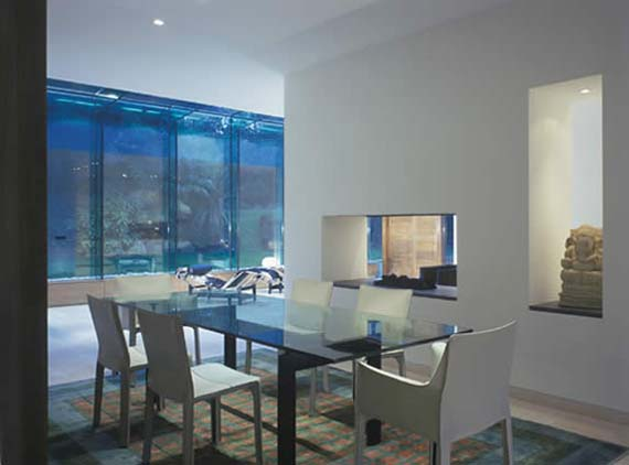 Frognal Residence, Frognal Residence Picture, Eating Room Design