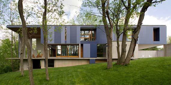 cement house design, Hill House Design, Concrete house design