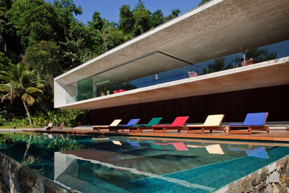 luxury beach house design by marcio kogan