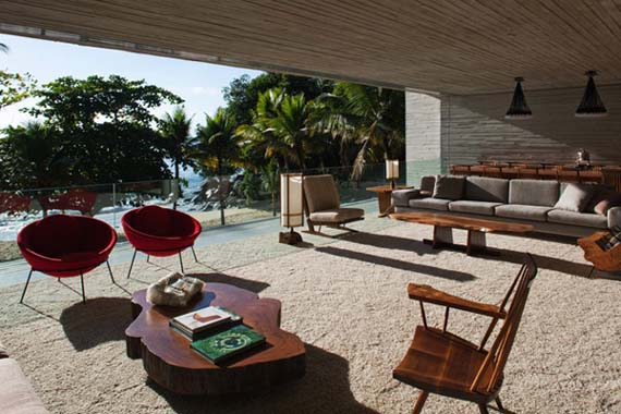 Luxury Beach House Design by Marcio Kogan 4 Luxury Beach House Design by Marcio Kogan