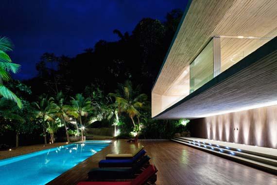 Beach House Design, Luxury Beach House Design, by Marcio Kogan, Beach House Picture