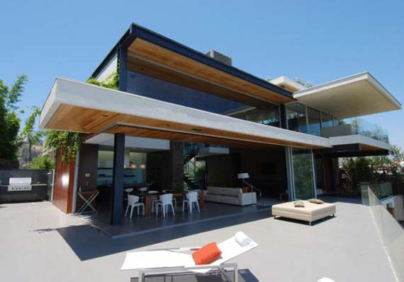 Modern House Design, Luxury Home Design, in Hollywood Hills
