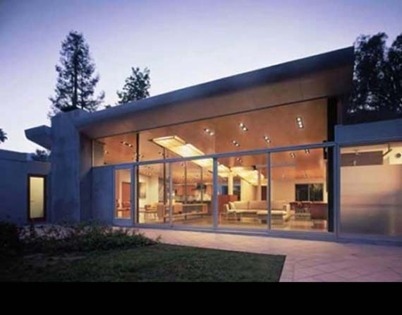 Modern House Design, Plywood Panel System, by Griffinenright Architects