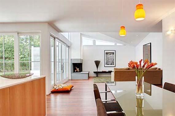 Modern Living Room Design, Raaman Residence