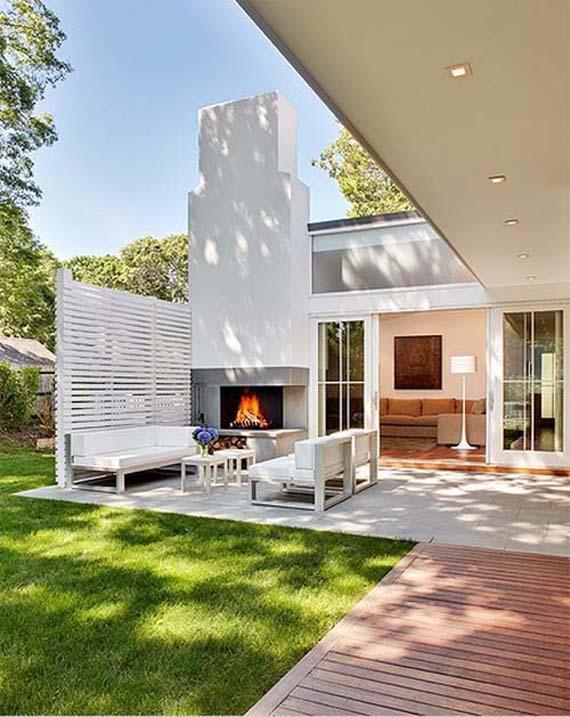 Raaman Residence, Terace Design
