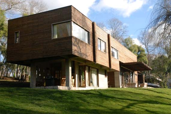 Modern Wood House Design, Wood House Design