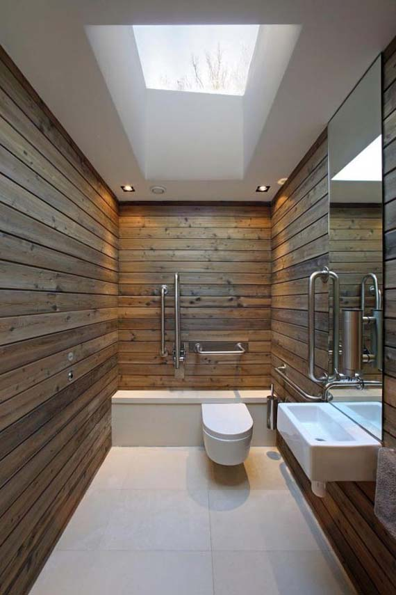 Modern House Design, Elegant Bathroom Design, ElegantHouse Design, Green Huse Design, by Nicolas Tye Architects