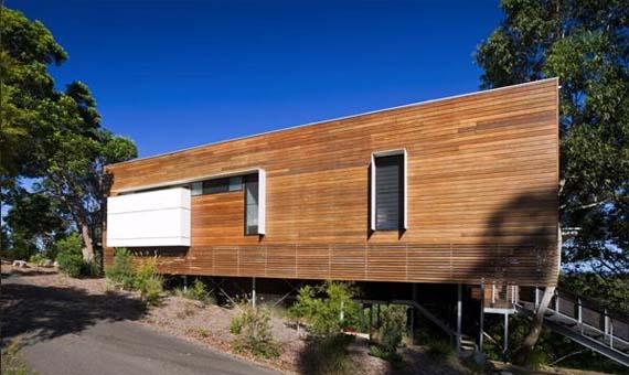 Tinbeerwah House Design,  Wooden House Design