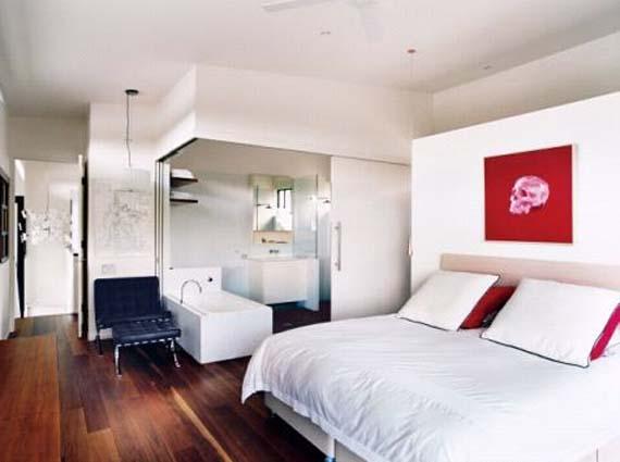 Beautiful Bedroom, Tinbeerwah House Design,  Wooden House Design, Open Kitchen Design
