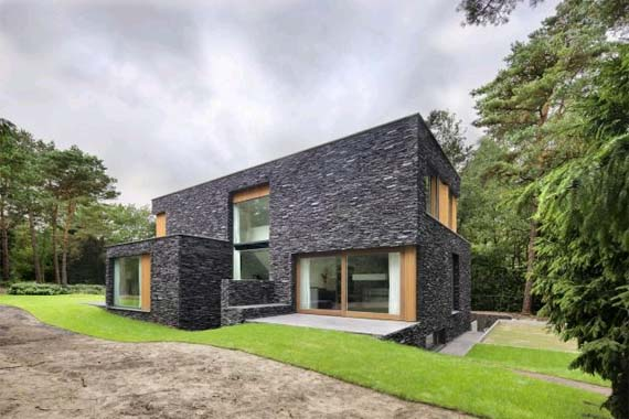 Villa in the woods Soest the Netherlands 2 Villa in the woods Soest, the Netherlands