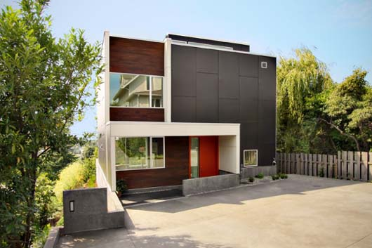 Backyard House Modern House Design by SHED Architects Interior