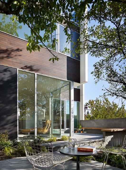 Backyard House Design, Modern House Design
