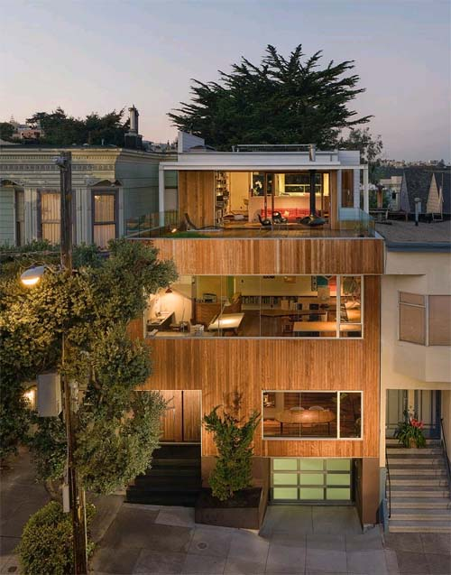 Beaver Street Reprise by Craig Steely Architecture1 Beaver Street Reprise, Modern House Design in San Francisco, California