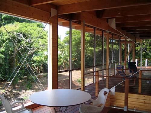 interior of modern house design in big island hawaii by craig