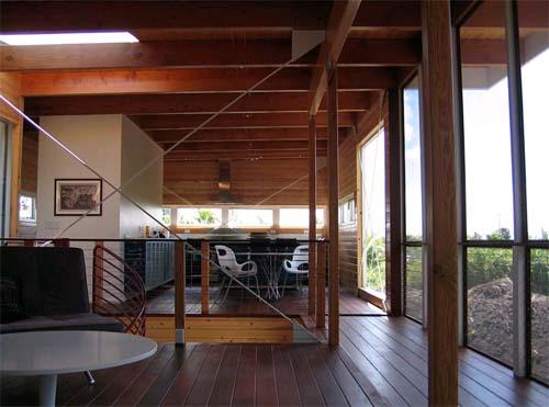 Kitchen of modern house design in big island hawaii by craig steely