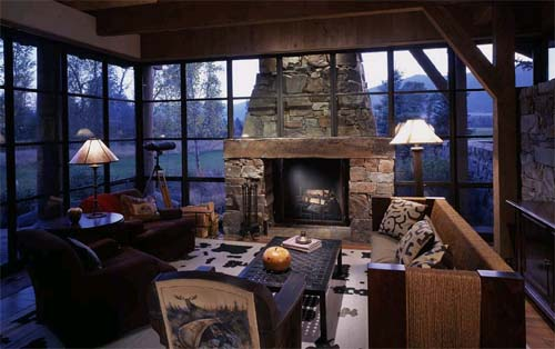 Kootenai Springs Ranch Inpired By Western Pole Barns Interior