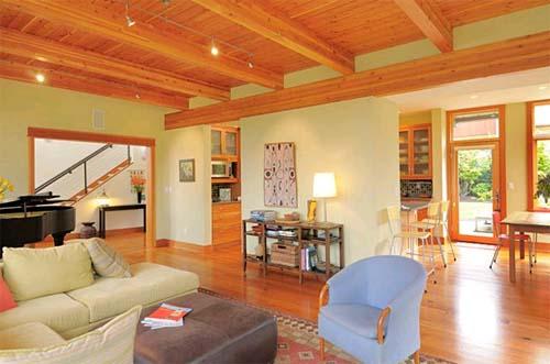 Living Room Design Of Mercer Island Residence By Johnston Architects