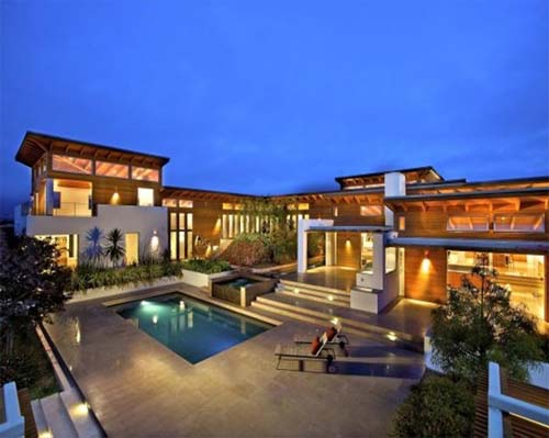 Luxury house design by safdie rabines architects for Luxury home designers