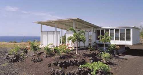minimalist beach house design in hawaii s big island interior