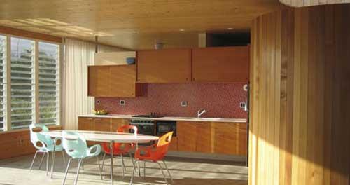 Open Dining Kitchen, Lavaflow 2, Beach House design
