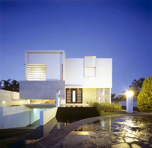 Modern house design in guadalajara mexico by agraz arquitectos interior design architecture Home architecture in mexico