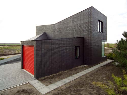 Modern brick houses small house plans modern for Modern house design with bricks