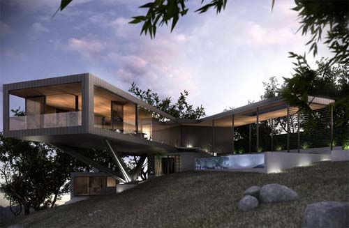 Exterior Design, Napa River House