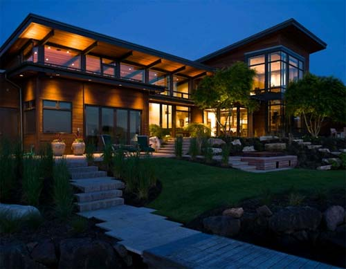 Porter residence lake house design by skb architects for Lakehouse homes