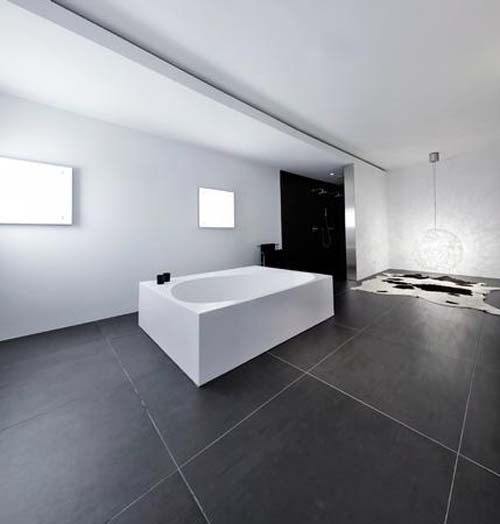Modern Basement: S House In Breda, Modern House With Basement-Office By