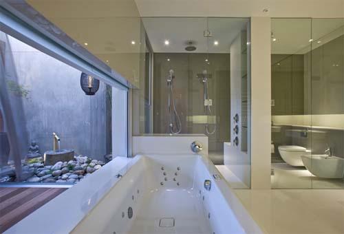 Bathroom West Melbourne Residence 2 by Nicholas Murray Architects West Melbourne Residence 2 by Nicholas Murray Architects