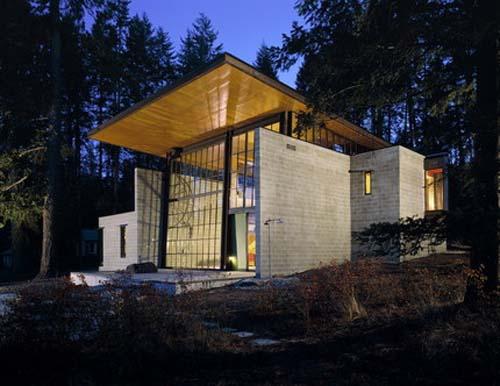 Chicken Point Cabin by Olson Sundberg Kundig Allen Architects
