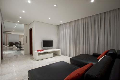Family Room,Luxury Apartment