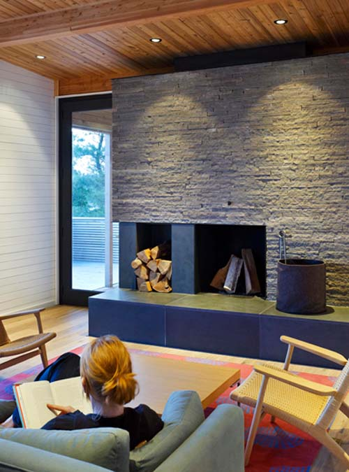 Family Room SHIFT Cottage Modern Family Living By Superk L Architects Inte