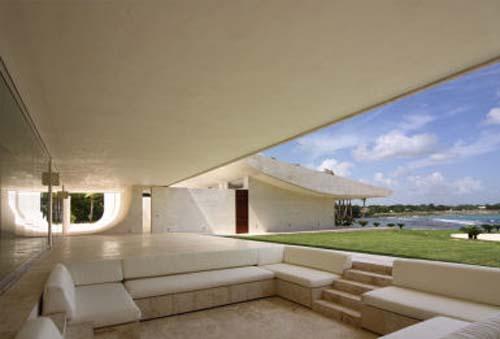 Luxury beach house design in casa de campo by a cero for Design in casa