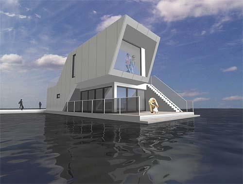 Houseboats Design By Arkitektfirmaet C. F. Møller