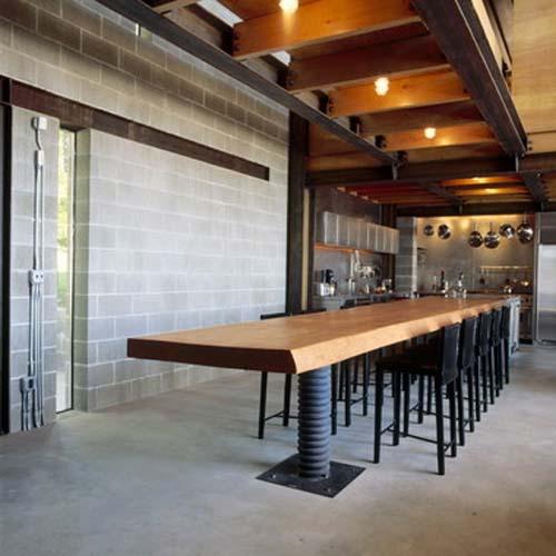 Kitchen Room-Chicken Point Cabin by Olson Sundberg Kundig Allen Architects