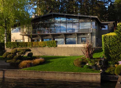 Lake Washington Blvd House Modified by Lane Williams Architects 1 Lake Washington Blvd House Modified by Lane Williams Architects