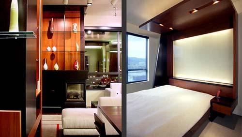 Living Area, Master Bedroom | Lerner Residence