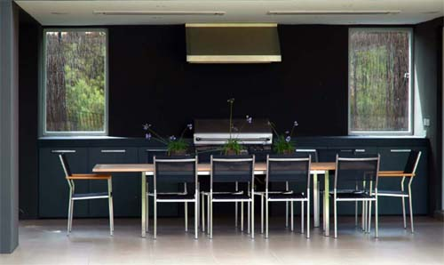 Open Dining Kitchen Toorak Residence by Eckersley Garden Architecture Toorak Residence by Eckersley Garden Architecture