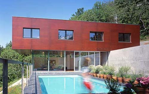 Pool G House Family House Design in Vienna by Zechner Zechner Zt Gmbh G House, Family House Design in Vienna by Zechner & Zechner Zt Gmbh