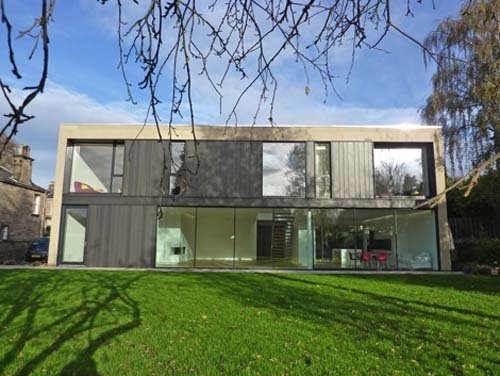 Yard-Merchiston Villa in Edinburgh by Allan Murray Architects