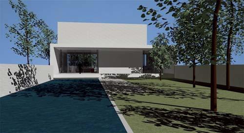 Concept House A, Minimalist House Concept