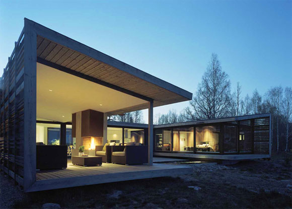 H House in Troso South of Stockholm by WRB Architects 1 H   House in Troso, South of Stockholm by WRB Architects