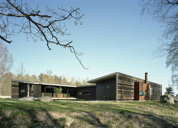 H House in Troso South of Stockholm by WRB Architects H   House in Troso, South of Stockholm by WRB Architects