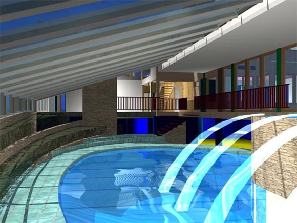 Indoor Pool Interior Design Architecture Furniture House Design