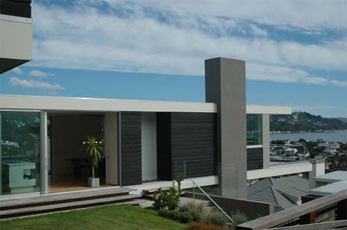 Seatoun House T Shaped House Design By Parsonson
