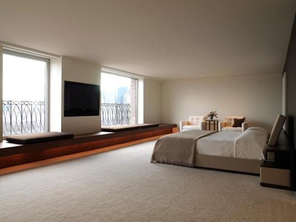 Bedroom view of Duplex Apartment in Central Park West New York City 1 Duplex Apartment, in Central Park West, New York City
