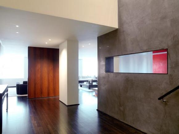Interior view of Duplex Apartment in Central Park West New York City Duplex Apartment, in Central Park West, New York City