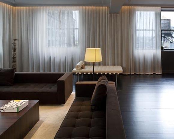 Loft apartment in new york city by bonetti kozerski studio for Loft apartments in nyc